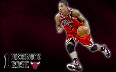Derrick Rose (Chicago Bulls) Wallpaper by JaidynM
