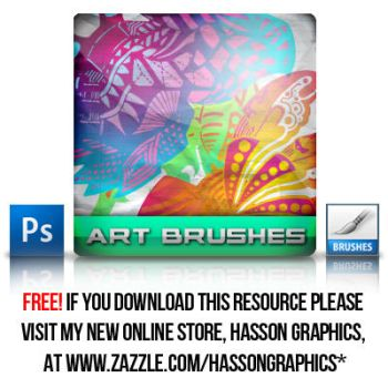 ART BRUSHES PACK.abr by jhasson