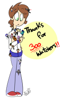 Thanks for 300 Watchers!!  by BefishProductions