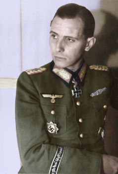 Otto Ernst Remer in early 1945 - Colorized by OldHank
