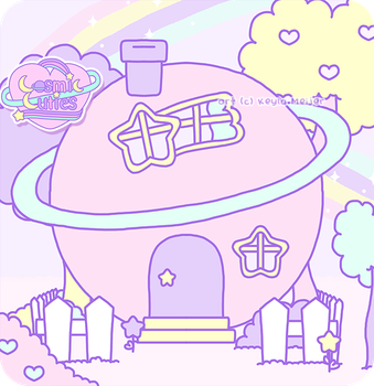 Planetbear house by Cosmiccuties