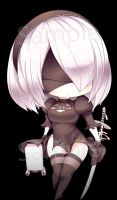 Miss 2B by beanbeancurd