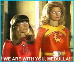 Electra Woman And Dyna Girl Mind Maidens Animation by The-Mind-Controller