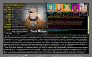 [Earth-27: Oracle Files] Slade Wilson (1/2) by Roysovitch