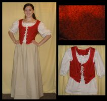 Red Vested Wench by Durnesque