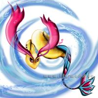 Milotic by Lilysworld05