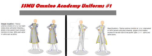 Prototypes - TBAS Academy Uniform by smcandy