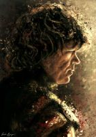 Tyrion Lannister. by VarshaVijayan