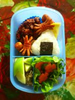 sweet potato lemon bento by plainordinary1