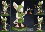 Commission : Mouseguard, Lessie of Ivydale by emilySculpts