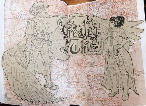 World Travel Book Pgs. 1 and 2 by TreatedAsThis
