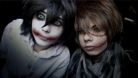 Liu AND Jeff Cosplay 1 /// CREEPYPASTA by betweenmyface