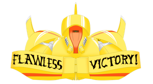 Flawless Victory Banner 2017 by TheLethalFeline