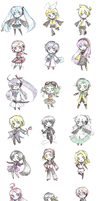 All Vocaloids : 2009 by Kjbionicle