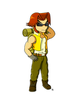 Metal slug project: Tarma by JoTheWeirdo