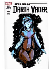 Star Wars: Darth Vader (blank cover) Aphra by themsmagazine