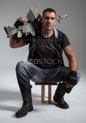 Lou Post Apocalyptic 115 - Stock Photography by NeoStockz
