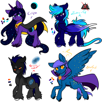 Shooting Void [CLOSED] by Razorfin-Adopts