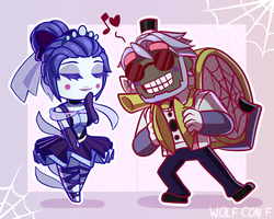 Ballora x Music Man by Wolf-con-f