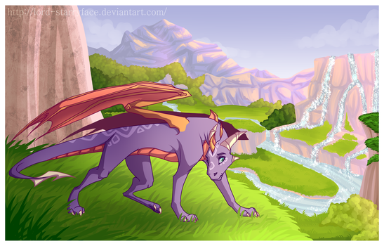 Exploring the Valley by Lord-StarryFace