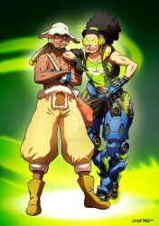 OW - Lucio and Usopp by oNichaN-xD
