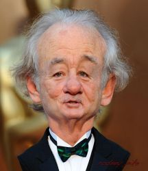 Bill Murray Handsome As Ever by RodneyPike