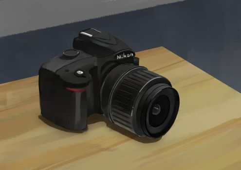 Nikon Still life by acrazymind