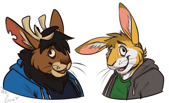 Bunny boys by Sir-Hootalot