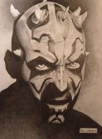 Darth Maul by RichWalker