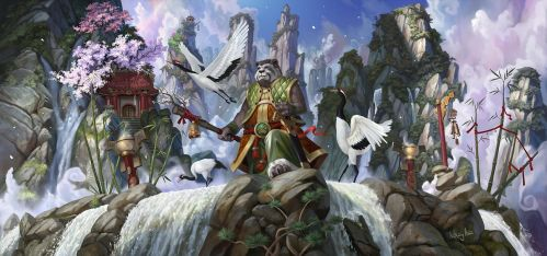 Krasarang and the Red Crowned Cranes by AnthonyAvon