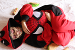 Deadpool kigurumi by Andivicosplay