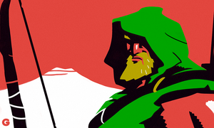 Green Arrow by G-for-Galdelico