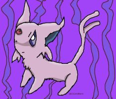 Espeon by QuilavaBurn