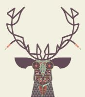 Deer1 by ExclusiveApe
