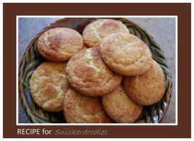 Recipe for Snickerdoodles by LadyAliceofOz