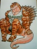 Fin the Dimetrodon by Everythingyouhate69