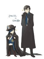 Pirate VS Consulting Detective by imwhooo
