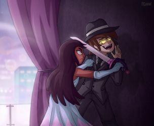 [Commission] Connie and Bipper by KamiSulit