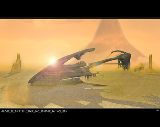 Ancient Forerunner Ruin WP by SSZag1