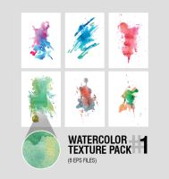 Watercolor Texture pack #1 by Iskander1989
