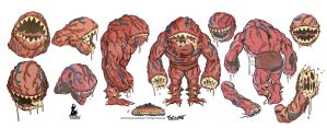 MAW model sheet for Savage Conquest by ChrisFaccone