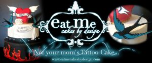 Tattoo Cakes by Thriveart
