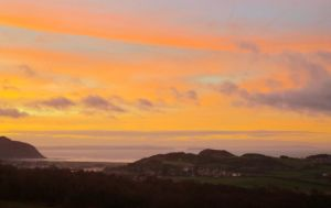 Anglesey in orange by MakinMagic