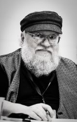 George R. R. Martin by GIVEthemHORNS