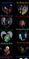 Young Justice Valentine's Day by Czakyre