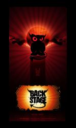 Back Stage Rock Bar Logo by can