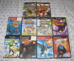 PS2 and Gamecube goodies! by T95Master