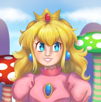 Mushroom Kingdom Princess by Divine-Princess