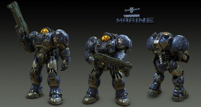 Marine Poses by SgtHK