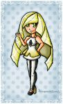 Lusamine by ninpeachlover